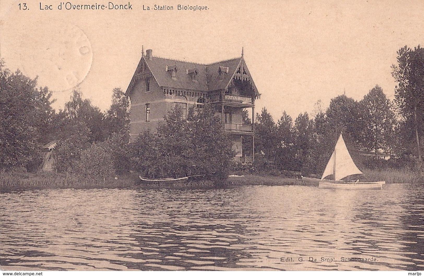 OVERMEIRE DONCK, LA STATION BIOLOGIQUE - Berlare