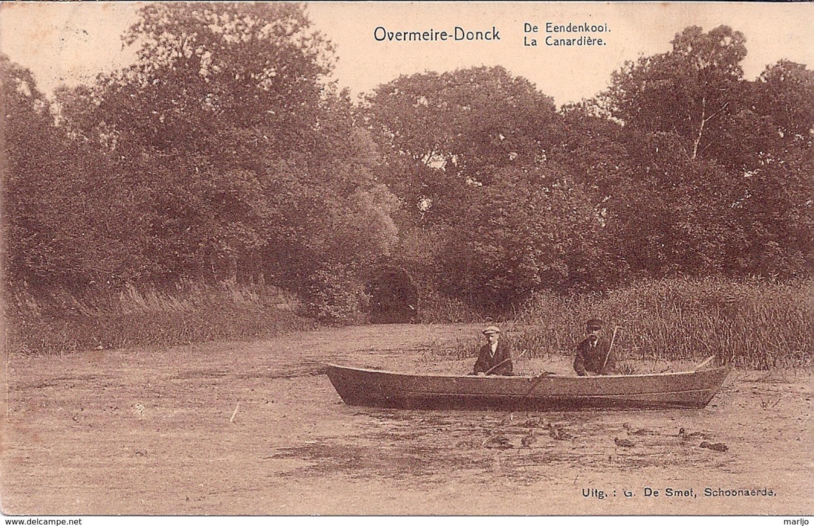 OVERMEIRE DONCK, DE EENDEKOOI, LA CANARDIERE - Berlare