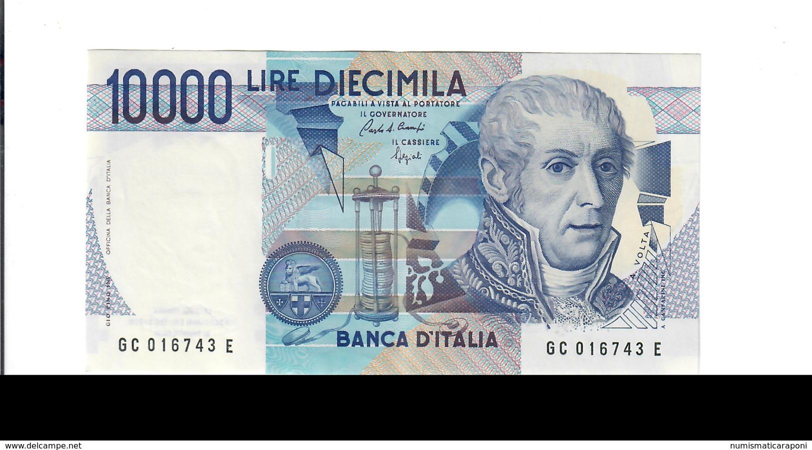 10000 Lire Alessandro Volta C 1988 Sup  LOTTO 2716 - [ 2] 1946-… : Républic