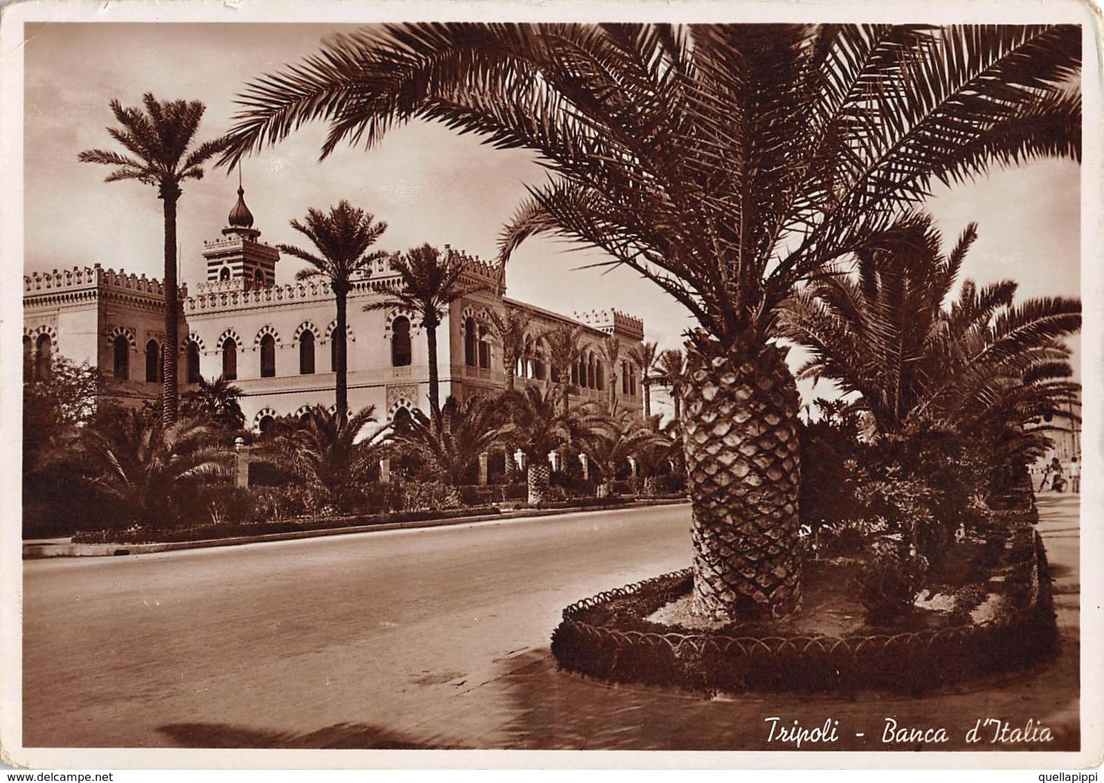 """09366 """"LIBIA - TRIPOLI - BANCA D'ITALIA"""" CART SPED 1926 - Libia"""