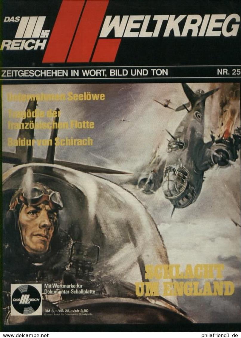WW II Heft Illustriert : Das 3. Reich ! Der 2. Weltkrieg ,Schlacht Um England. Sehr Viele Abbildungen Und Hintergrund - Deutschland