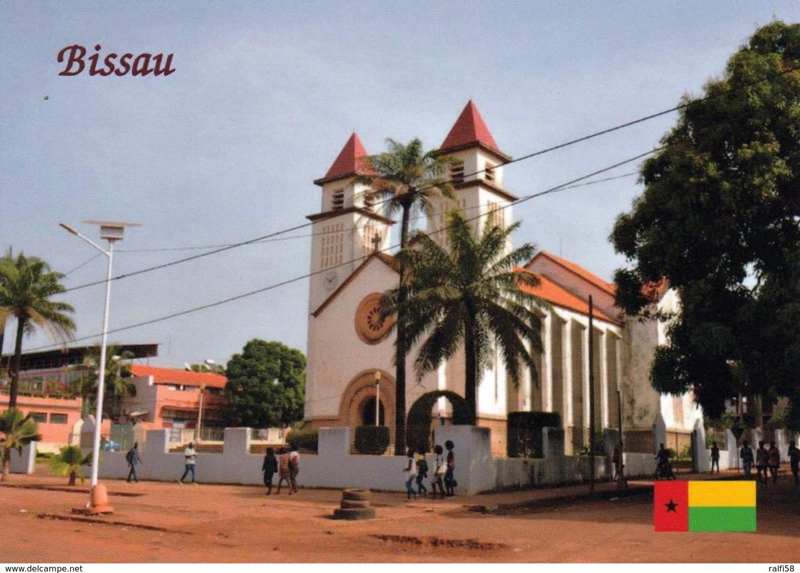 1 AK Guinea Bissau * Kathedrale Unserer Jungfrau Von Candelaria In Bissau Der Hauptstadt Des Landes * - Guinea-Bissau
