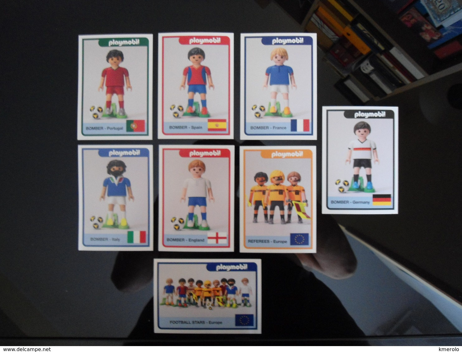 PLAYMOBIL 2016 European Football Championship Lot De 8 Cartes Postales - Speelgoed & Spelen