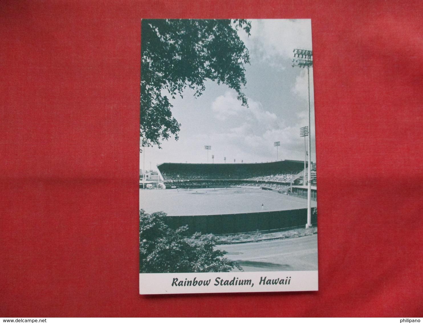 Rainbow Stadium Hawaii      Ref    3557 - Baseball
