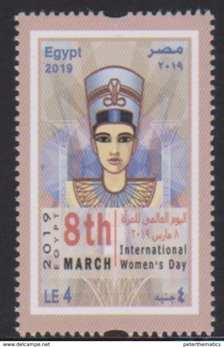 EGYPT, 2019, MNH, INTERNATIONAL WOMEN'S DAY,  1v - Celebrations