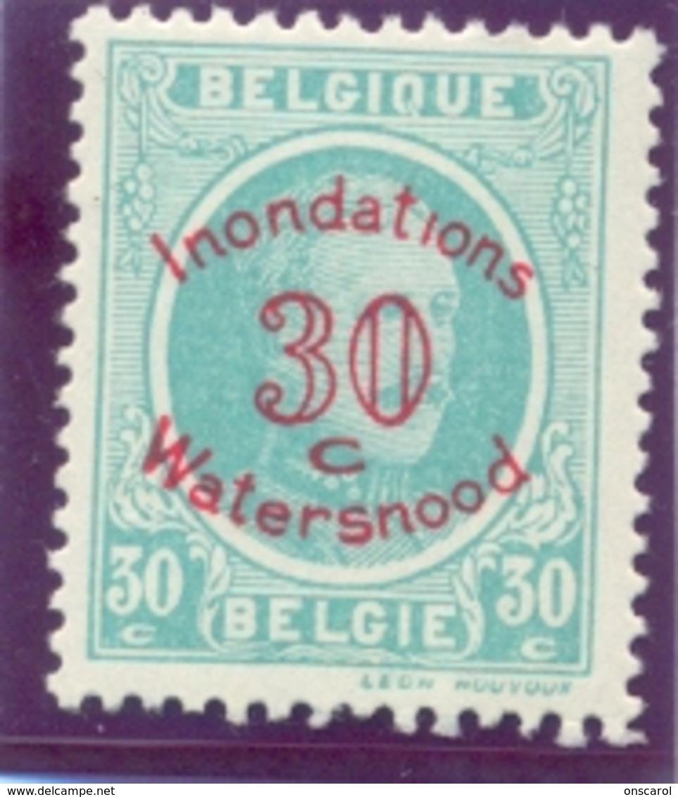 Nr. 237-V1 ** Zonder Punt Op I - Variétés (Catalogue COB)