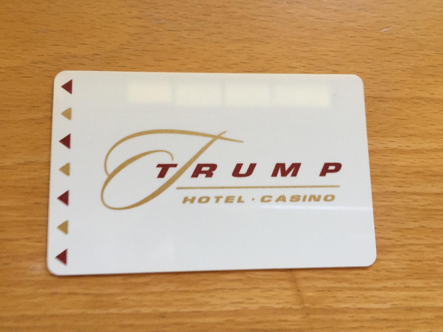 Hotelkarte Room Key Keycard Clef De Hotel Tarjeta Hotel  TRUMP HOTEL & CASINO INDIANA - Telefonkarten