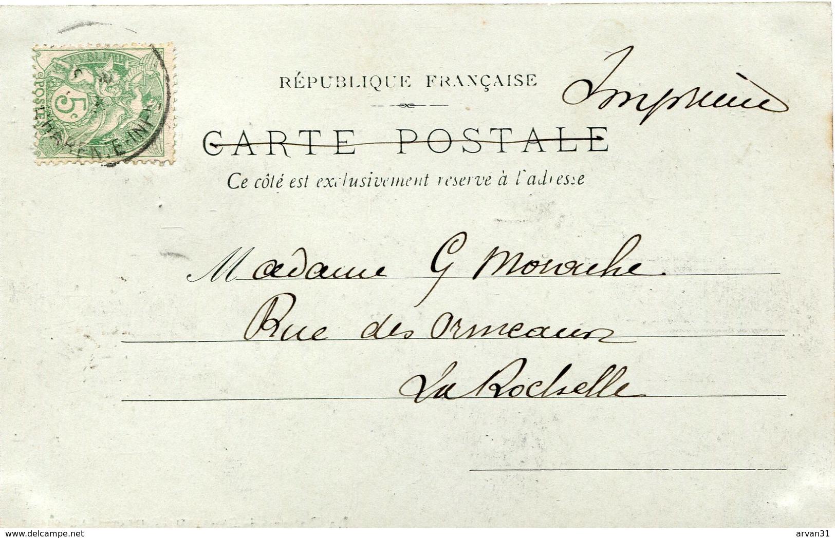 LA ROCHELLE - PARC CHARRUYER - CARTE PRECURSEUR  - - La Rochelle
