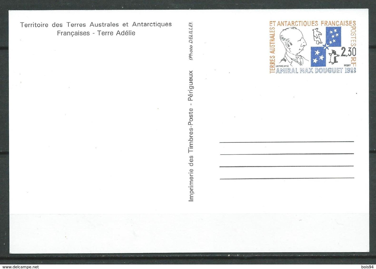 TAAF 1991 . Entier Postal N° 1-CP . Neuf ** (MNH) - Ganzsachen