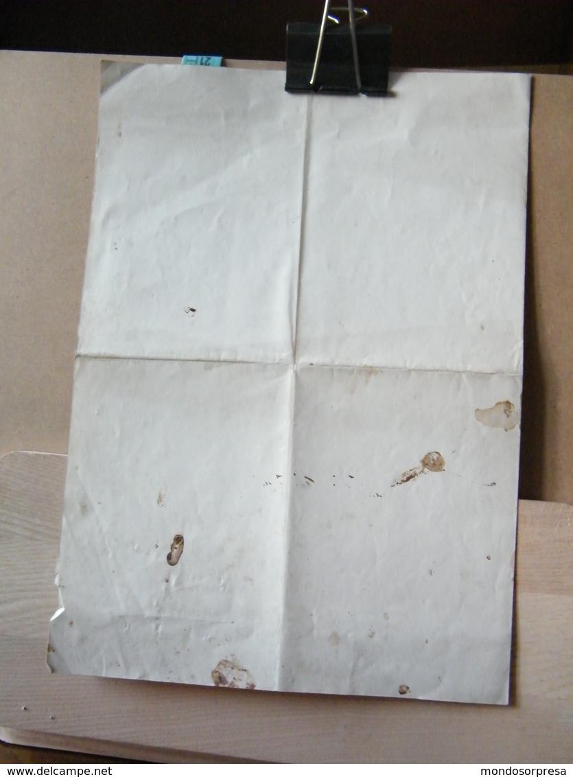MONDOSORPRESA, ATTESTATO CONFERIMENTO MEDAGLIA FRANCESE COMMEMORATIVA DELLA CAMPAGNA D' ITALIA ANNO 1859 - Documenti