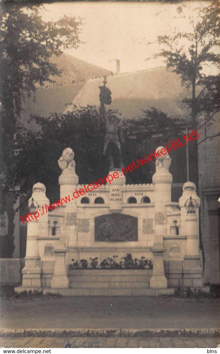 Foto - Monument Aan Onze Helden - Asse - Asse
