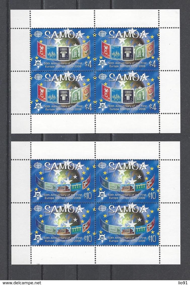 SAMOA.  YT  N° 996/999  Neuf **  2005 - Samoa