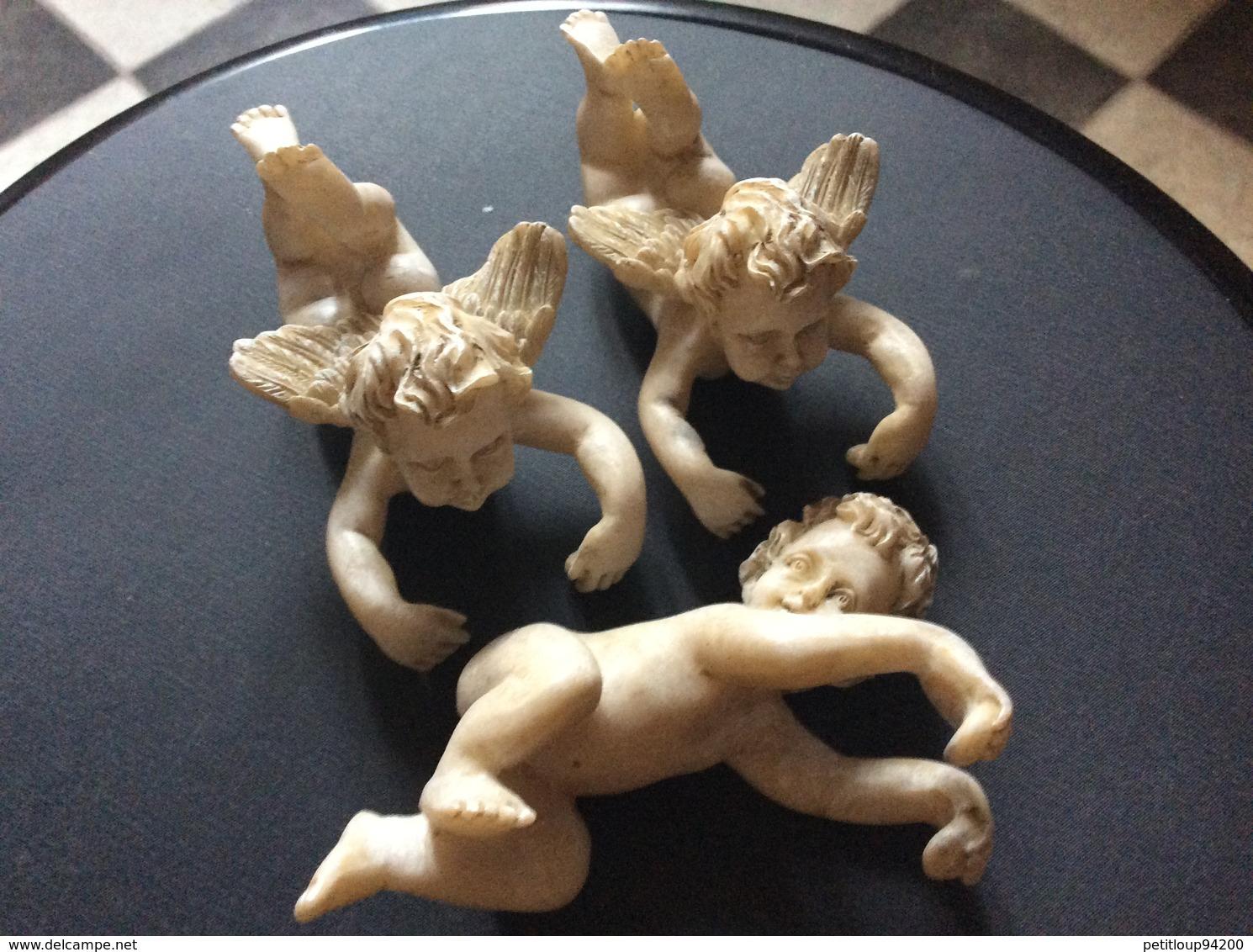 3 ANGELOTS Cherubins - Religion & Esotericism