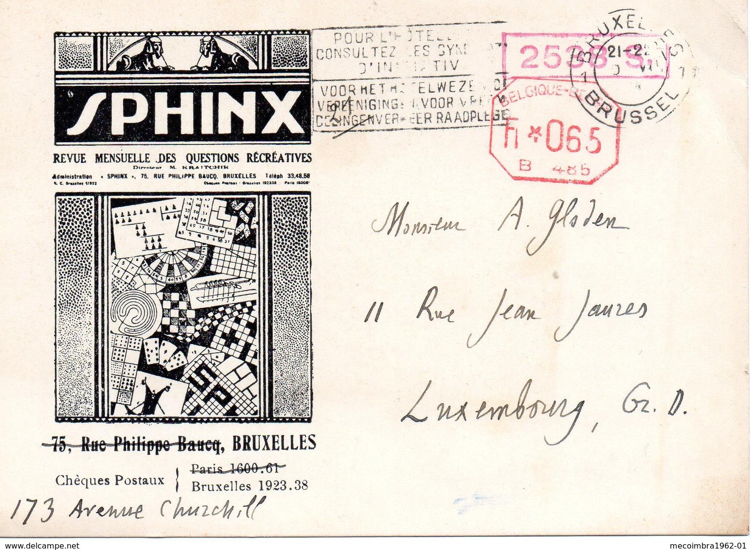 * BELGIQUE * Postkarte Cartes Sans Timbre Imprimé Bruxelles - Deutschland