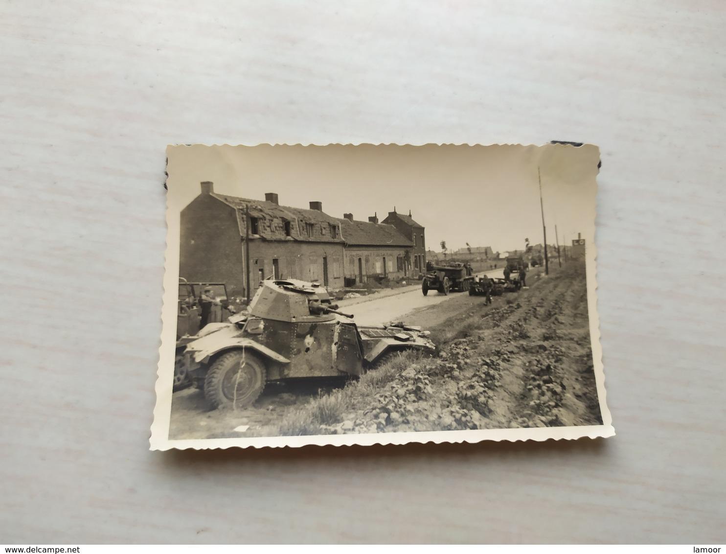WWI Foto Frankreich   PANZER TANK Kampfwagen - 1939-45