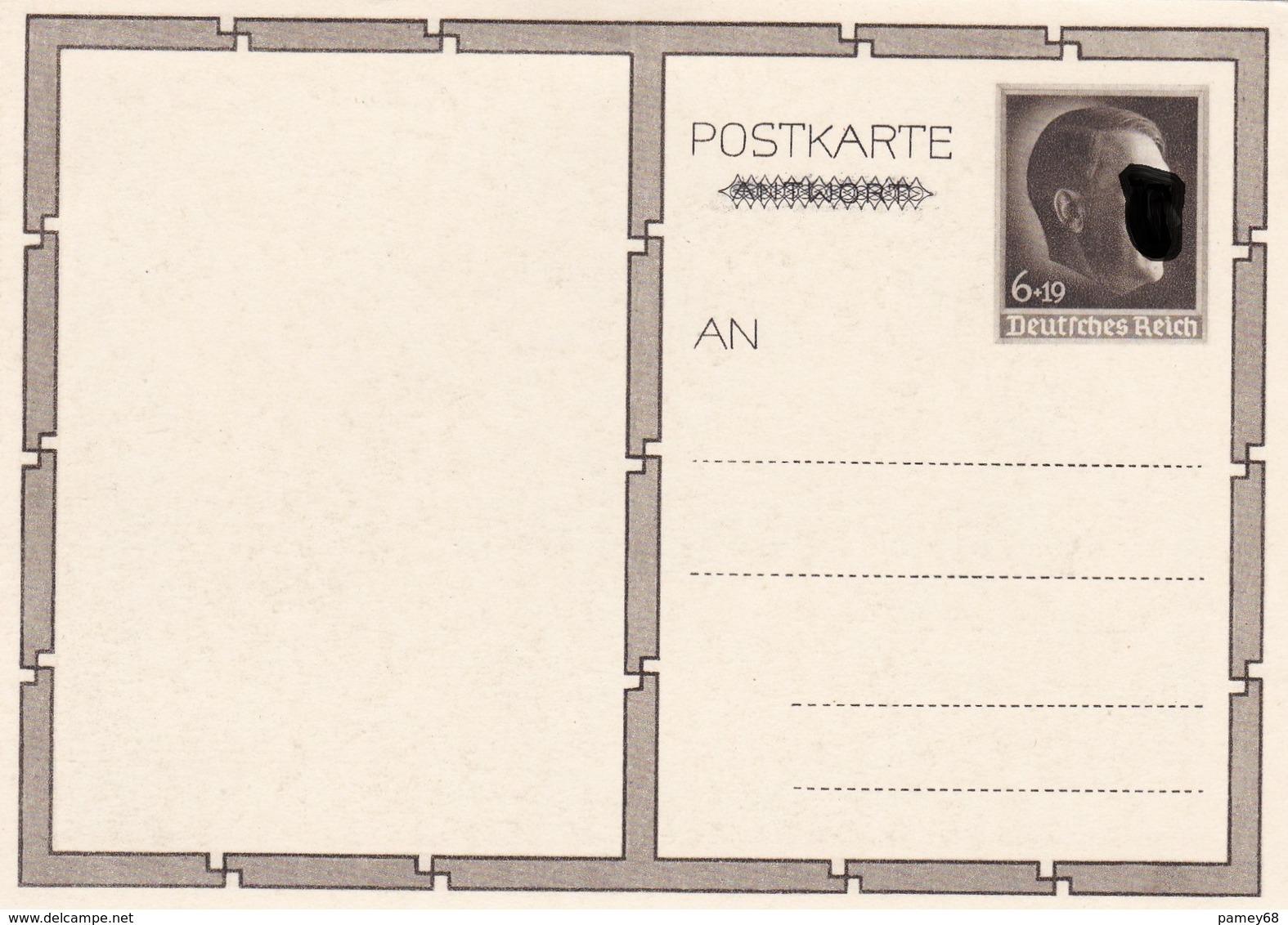 Entier Neuf Illustre De Propagande 1939 - Ganzsachen