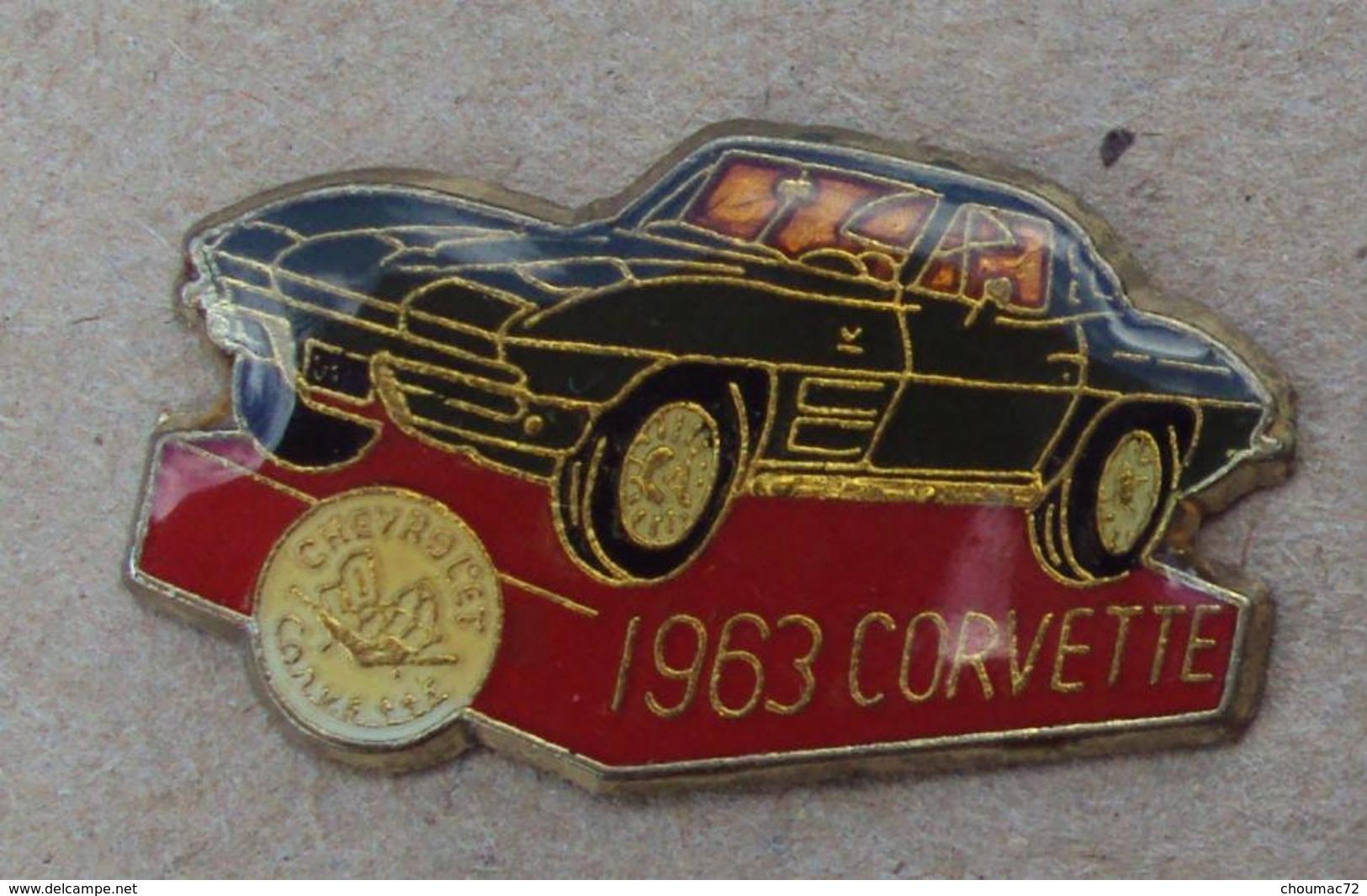 Pin's Automobile 014, Corvette 1963 - Corvette