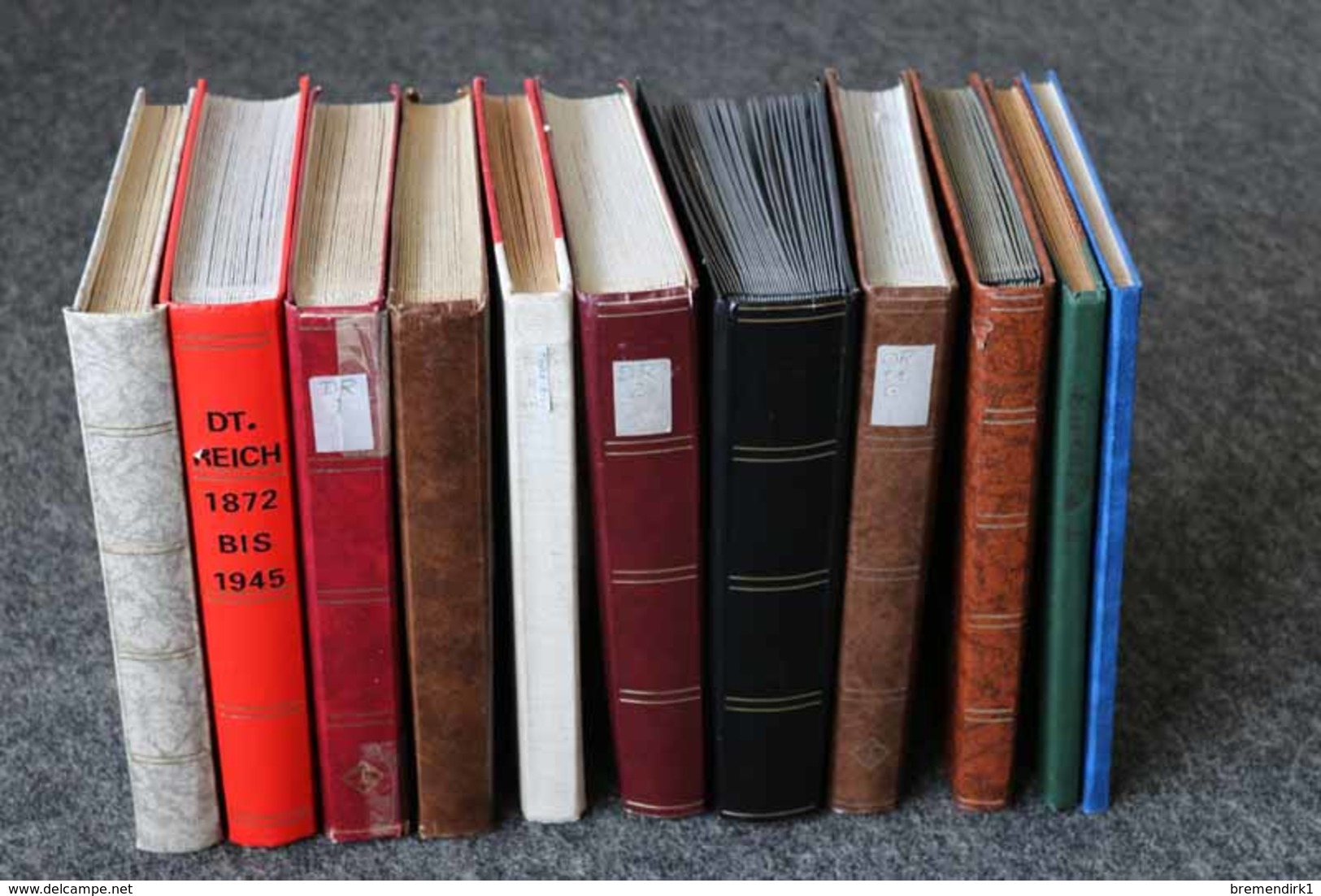 DEUTSCHES REICH Dublettenposten In 11 Steckalben, 263 Bilder ....199 (G) - Lots & Kiloware (min. 1000 Stück)