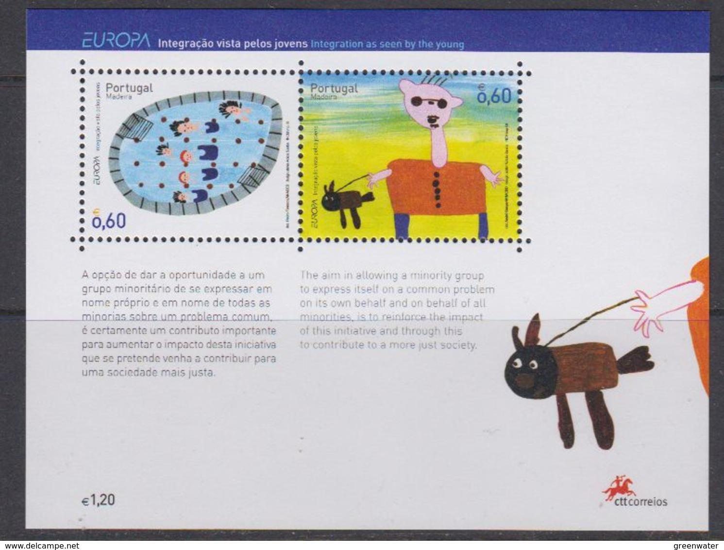 Europa Cept  2006 Madeira M/s ** Mnh (44268) @ Face - Europa-CEPT