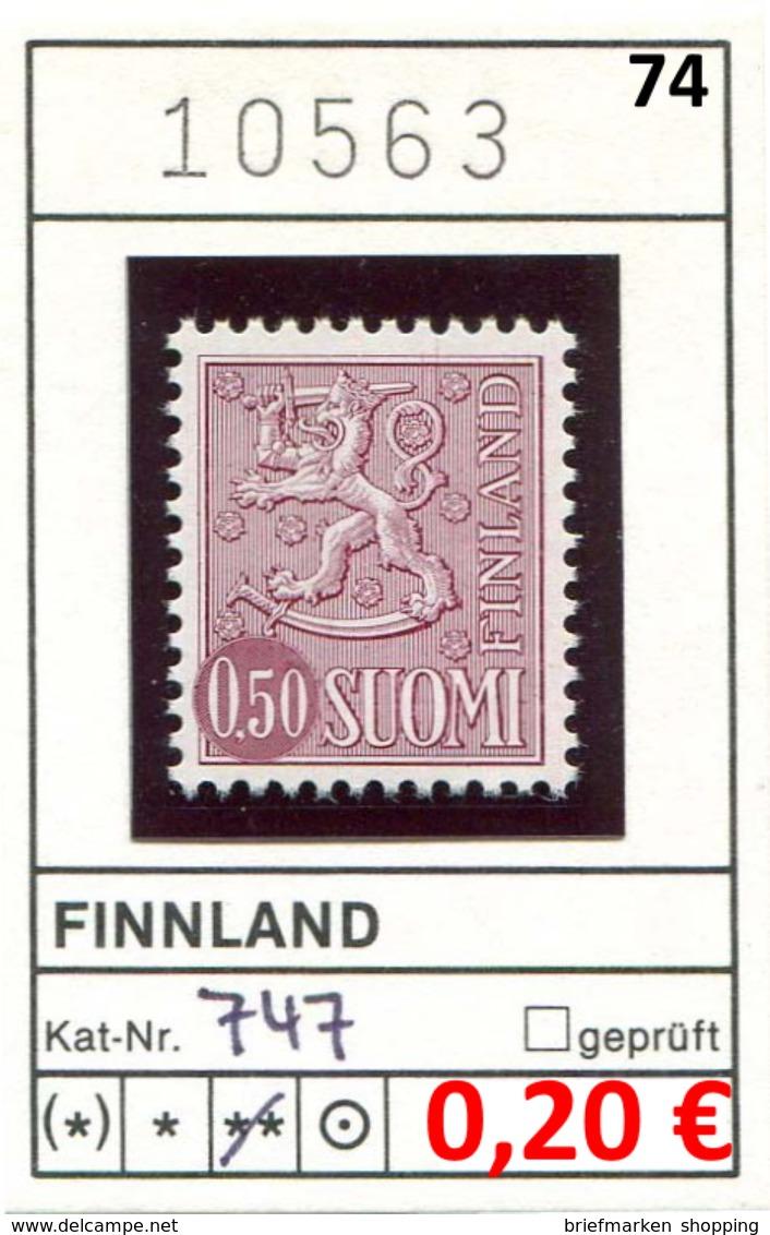 Finnland - Finland - Suomi - Finlande - Michel 747 - ** Mnh Neuf Postfris - - Finnland