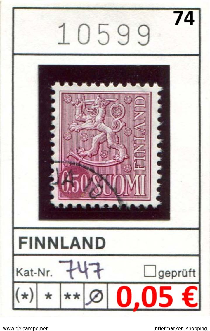Finnland - Finland - Suomi - Finlande - Michel 747 - Oo Oblit. Used Gebruikt - Finnland
