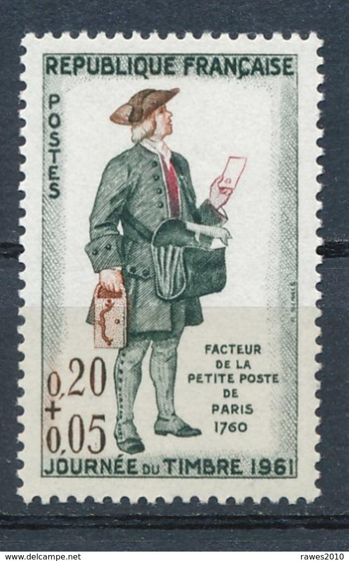 Frankreich Mi. 1339 Postfr. Tag Der Briefmarke Historischer Postbote - Tag Der Briefmarke