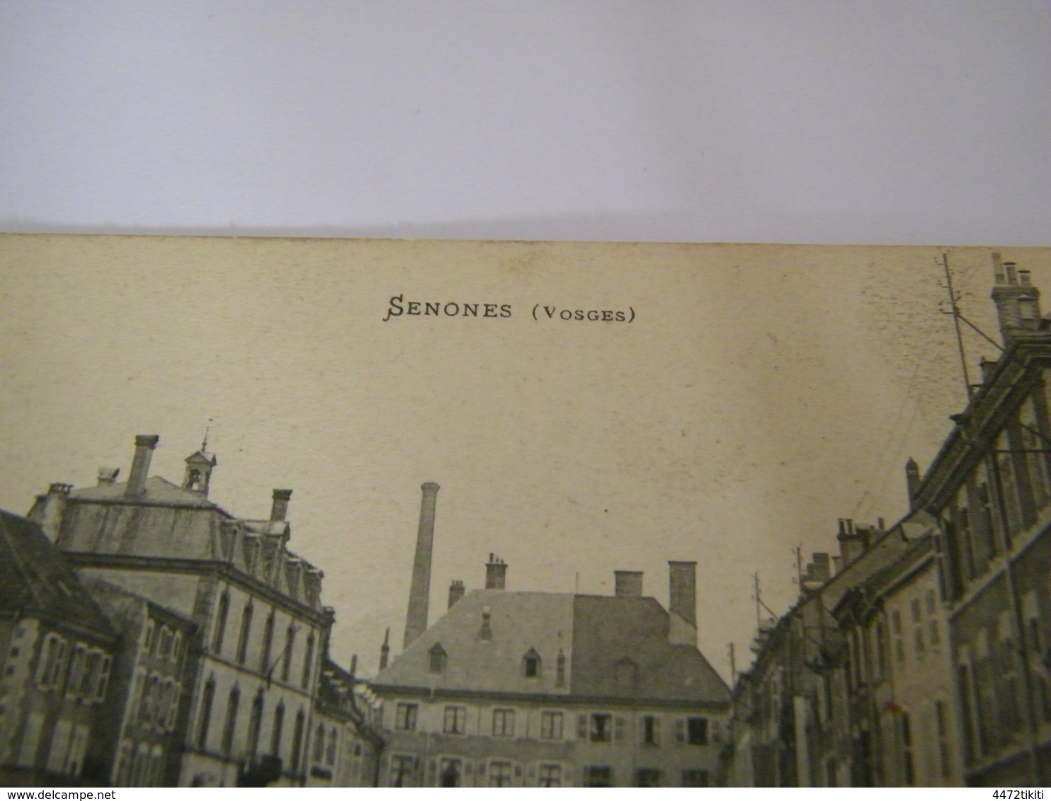 C.P.A.- Senones (88) - Place De L'Hôtel De Ville - 1907 - SUP (CJ 98) - Senones