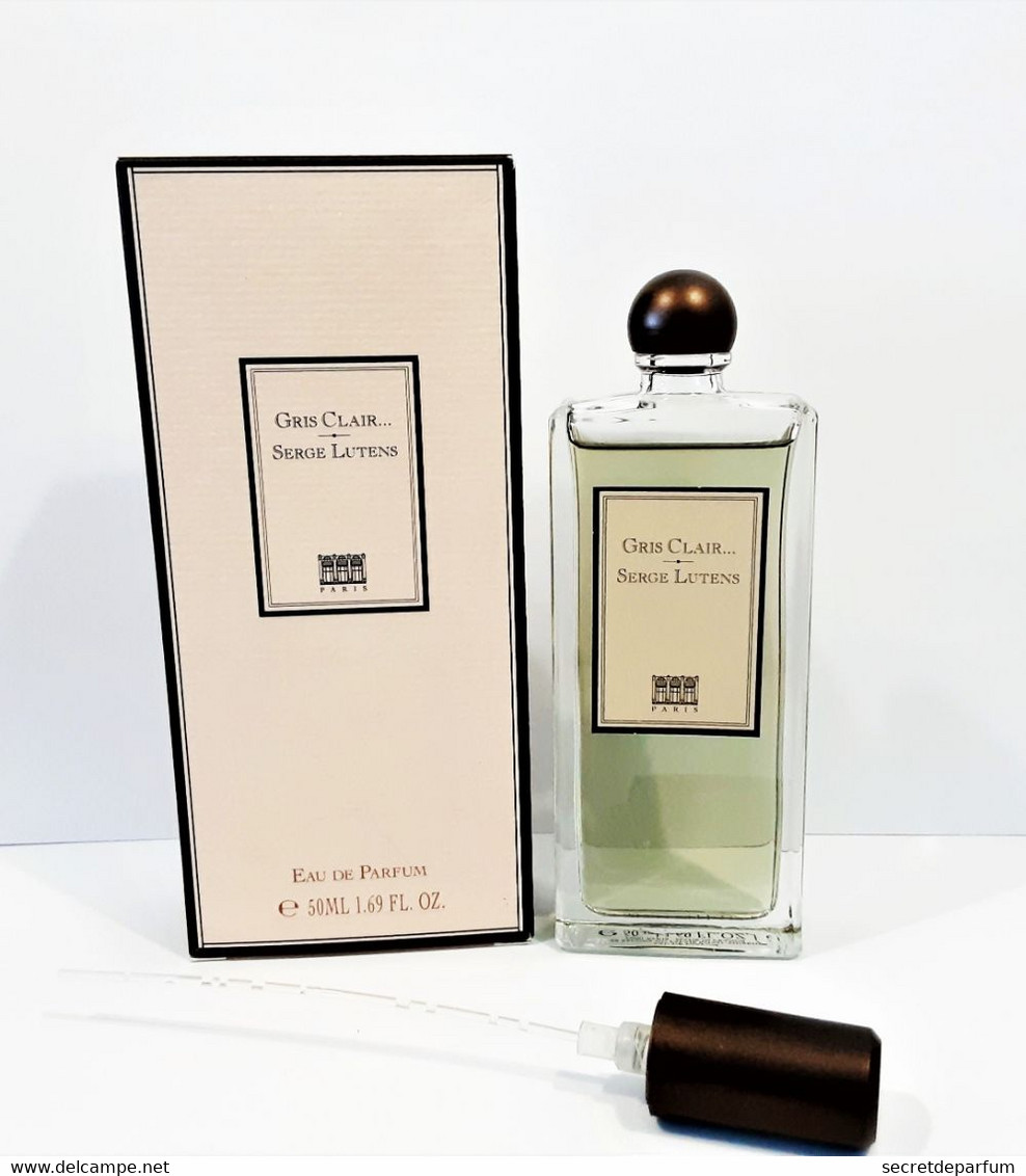 Flacon De Parfum NEUF    GRIS CLAIR De  SERGE LUTENS   50 Ml   EDP   + BOITE - Women
