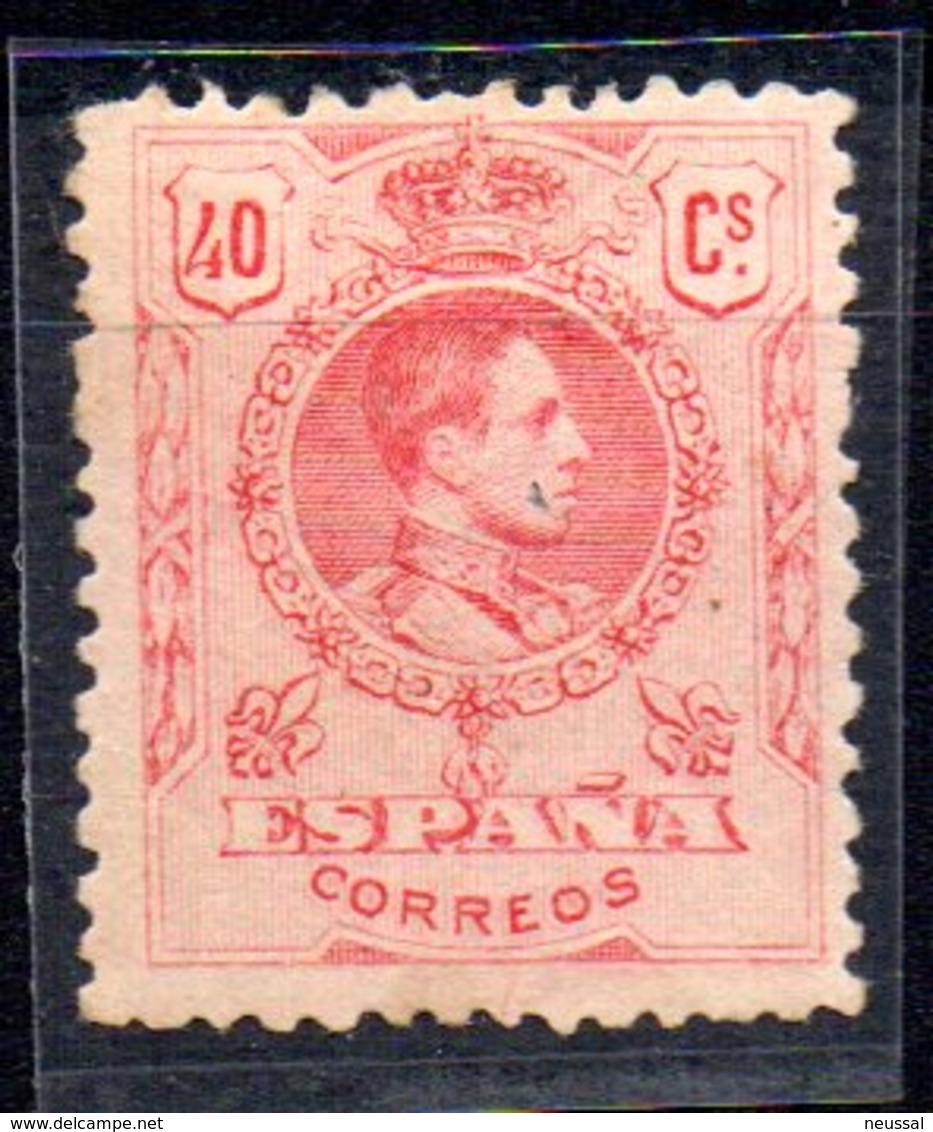 Sello Nº 276  España - 1889-1931 Reino: Alfonso XIII