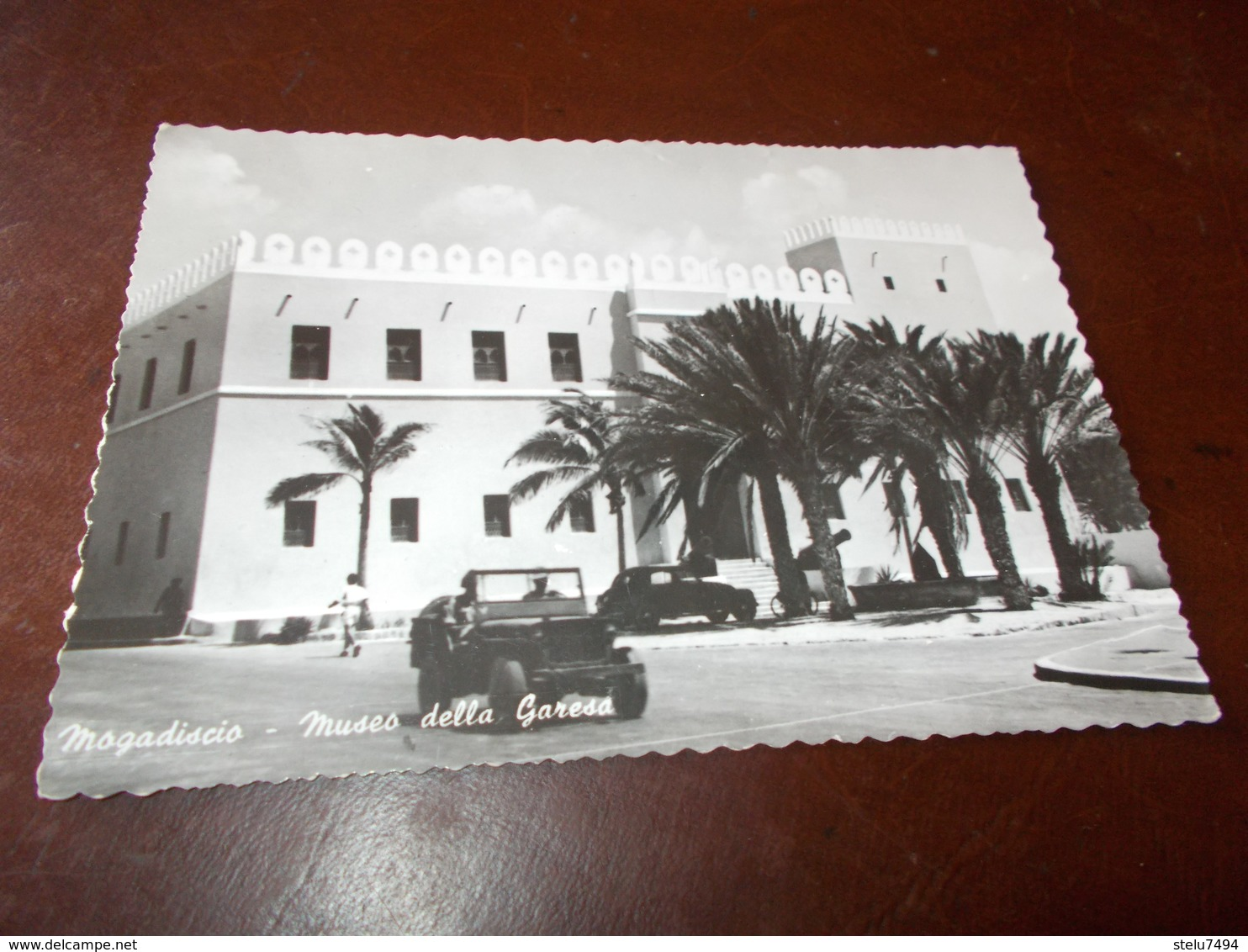 B733  Mogadiscio Museo Della Garesa Residui Carta - Somalia