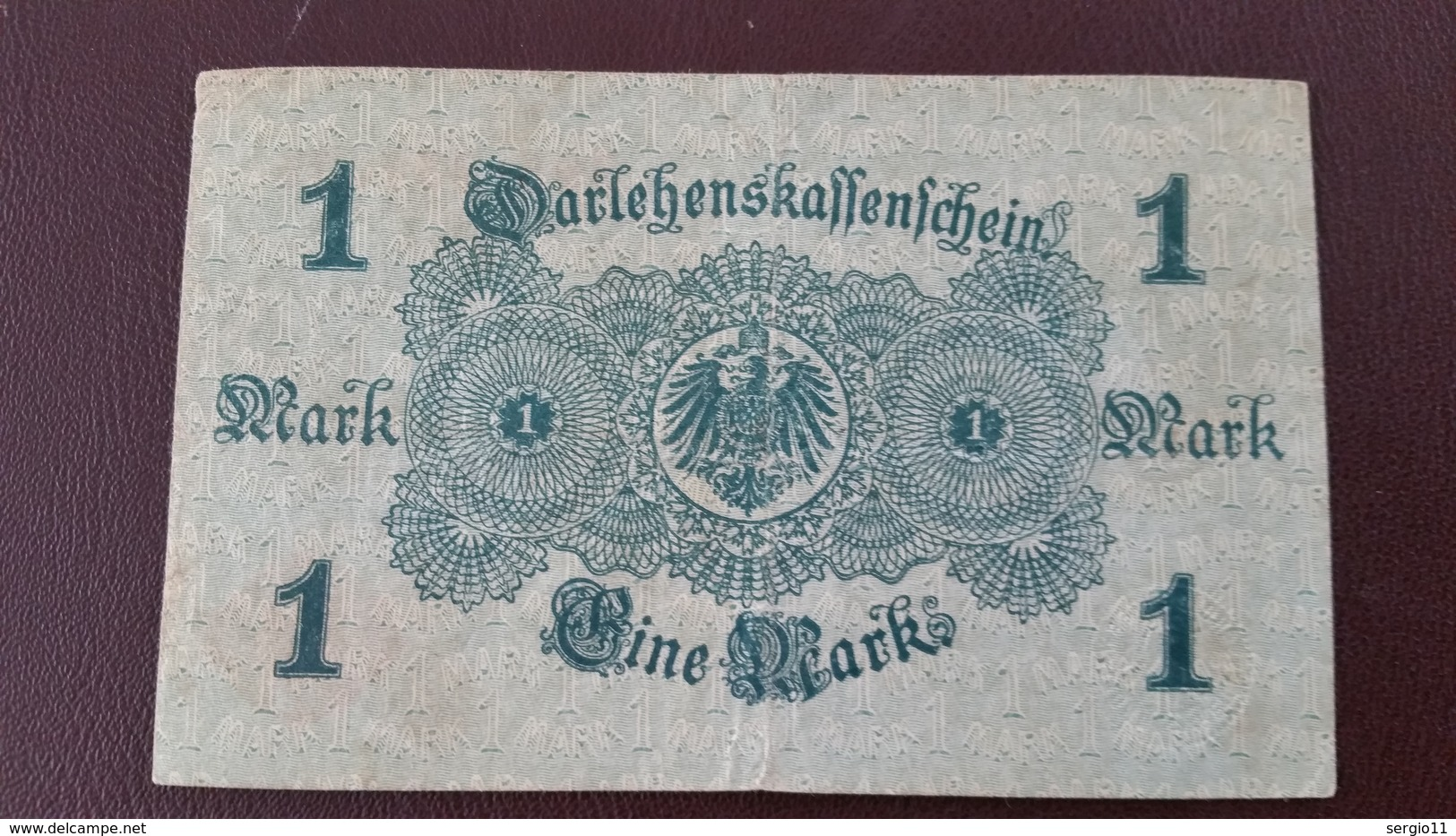 Billet Allemagne 1 Mark 12 Août 1914 N° Série 395 - 237039 - Altri