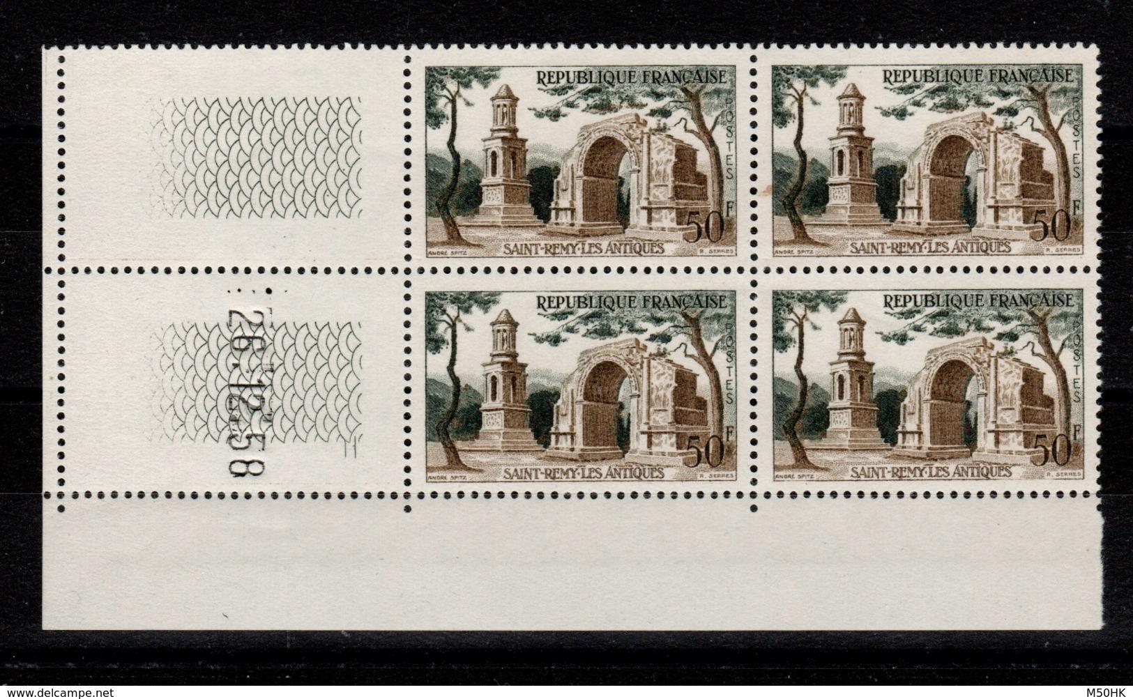 Coin Daté - YV 1130 N** St Remy Coin Daté Du 26.12.58 - 1950-1959