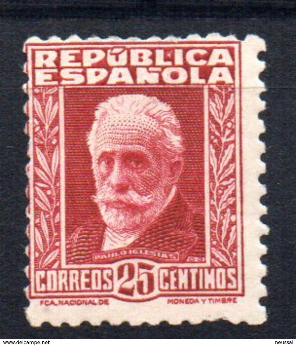 Sello Nº 658  España - 1931-50 Nuevos & Fijasellos