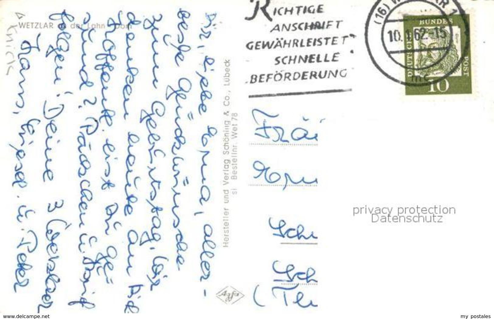 73335274 Wetzlar Dom Brunnen Wetzlar - Wetzlar