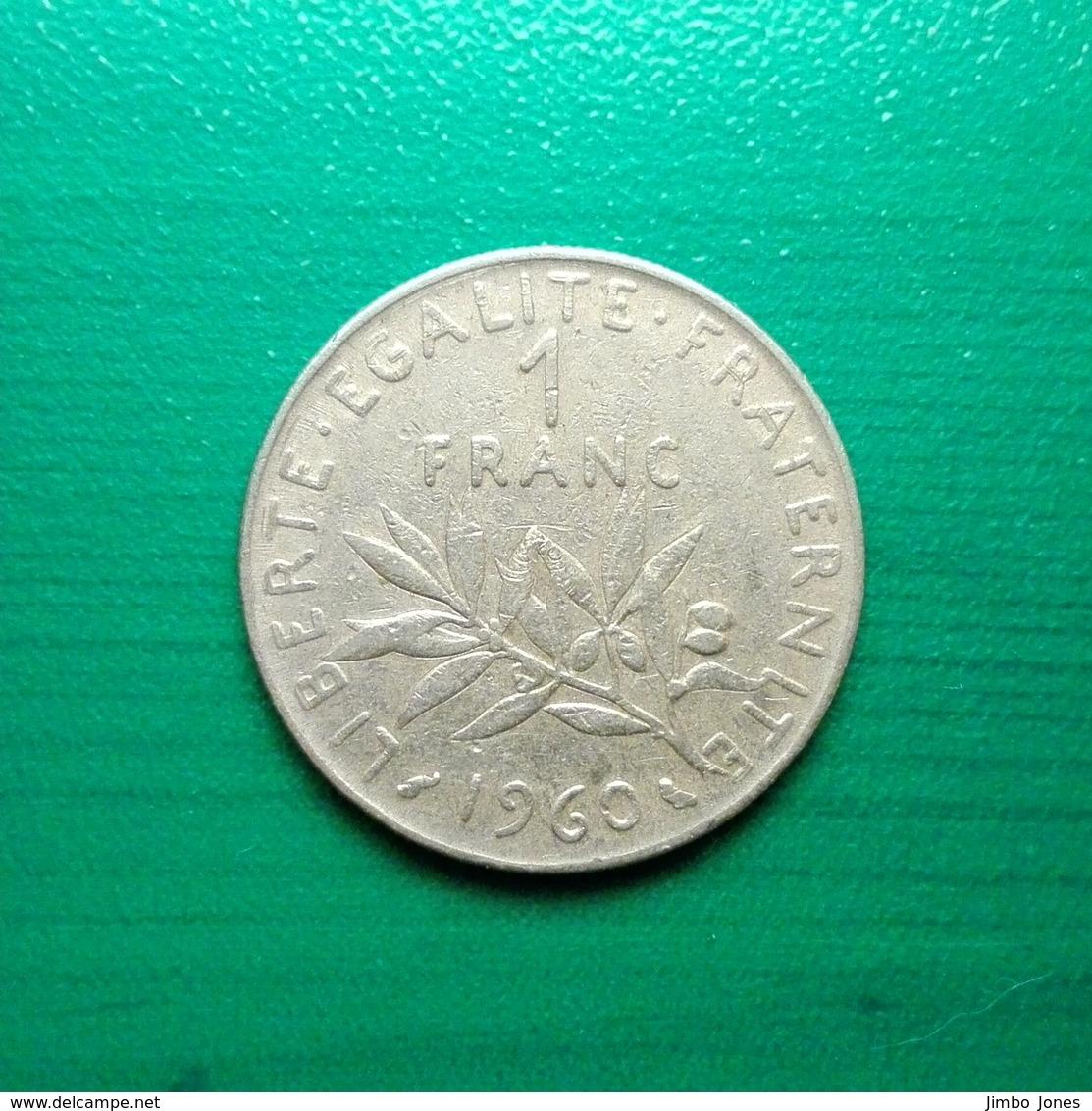 1 Franc Münze Aus Frankreich Von 1960 (schön) - Frankreich