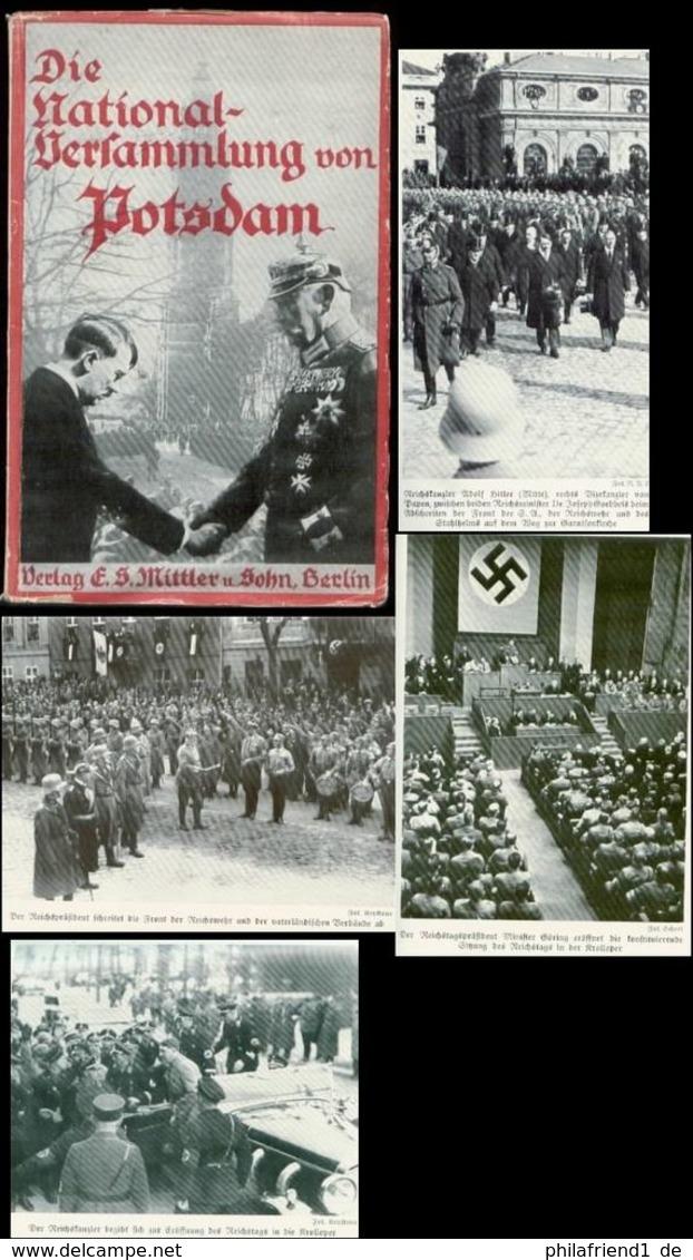 WW II Buch : Die Nationalversammlung Von Potsdam 1933, Politik , SA , Adolf Hitler , Hermann Göring , Von Hindenburg , - Police & Military