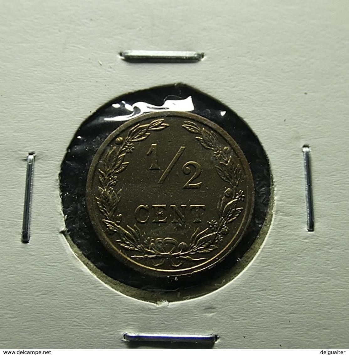 Netherlands 1/2 Cent 1906 Varnished - [ 3] 1815-… : Koninkrijk Der Nederlanden