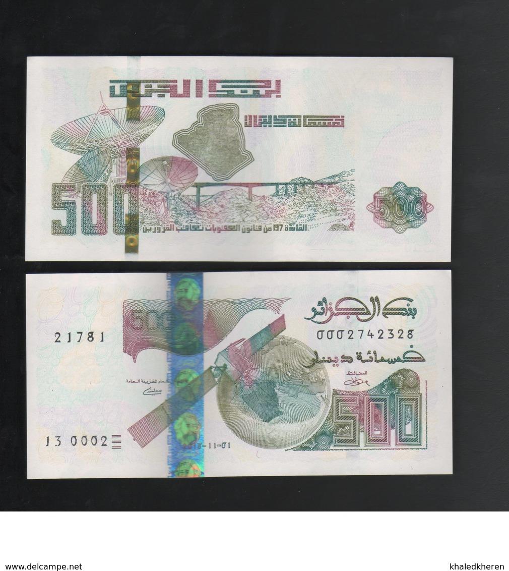 500 Dinars 2018 Algerie Algeria New Unc - Algerije