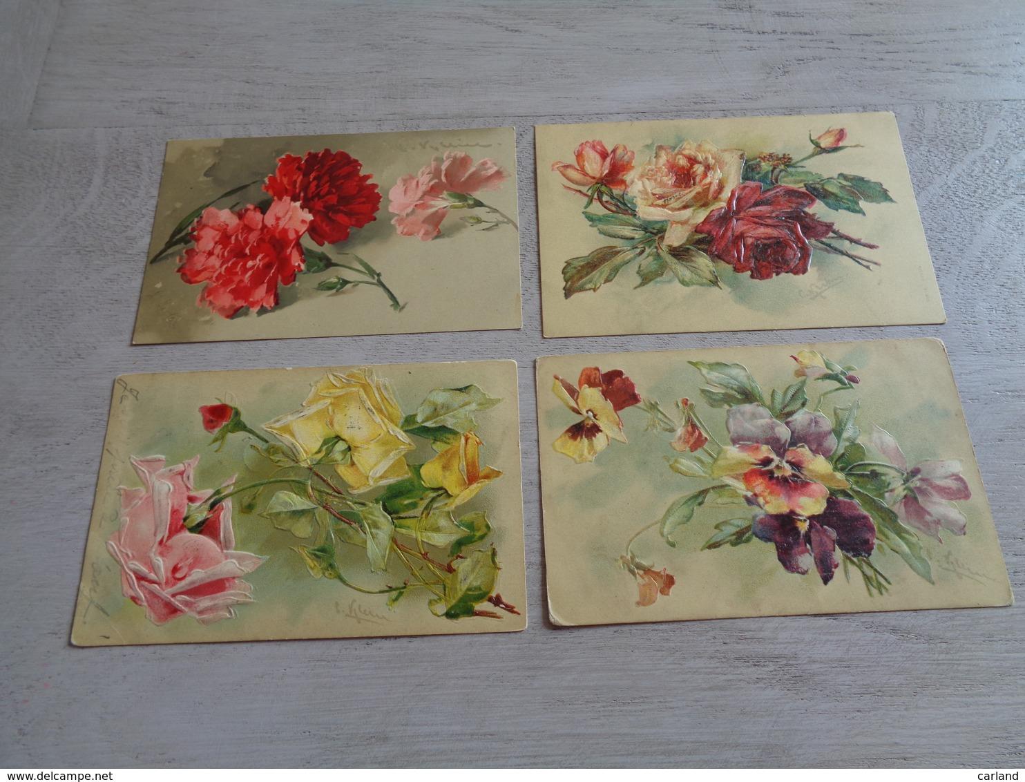 Beau Lot De 20 Cartes Postales De Fantaisie Illustrateur Catharina Klein  Mooi Lot Van 20 Postkaarten Van Fantasie Klein - Cartes Postales