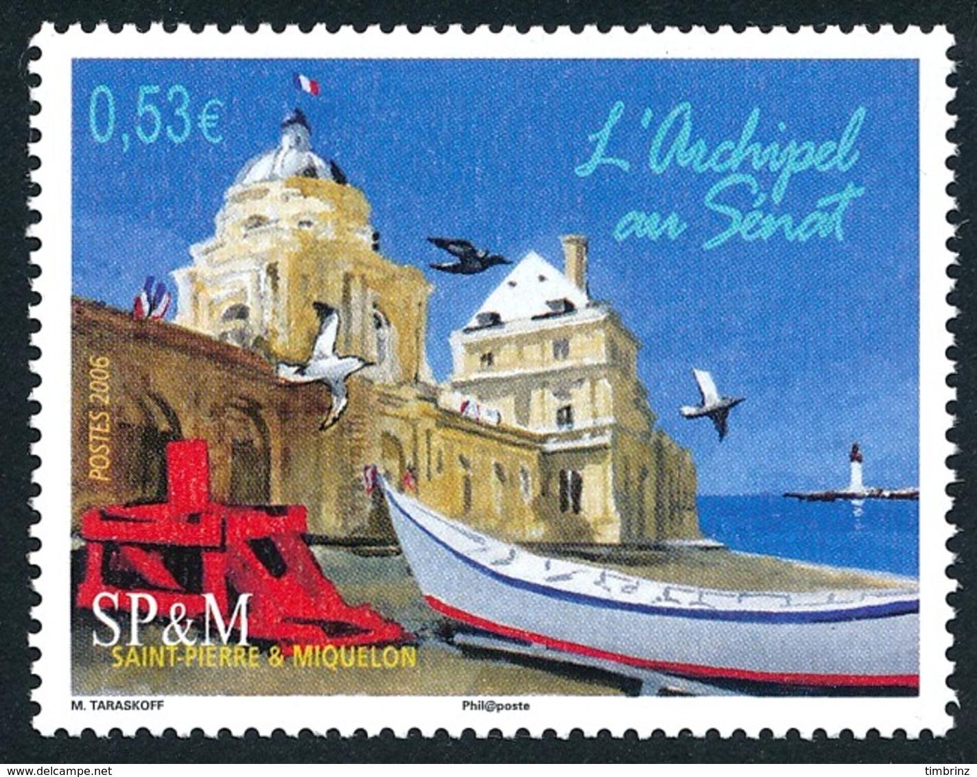 ST-PIERRE ET MIQUELON 2006 - Yv. 866 **   Faciale= 0,53 EUR - L'archipel Au Sénat  ..Réf.SPM11567 - Neufs