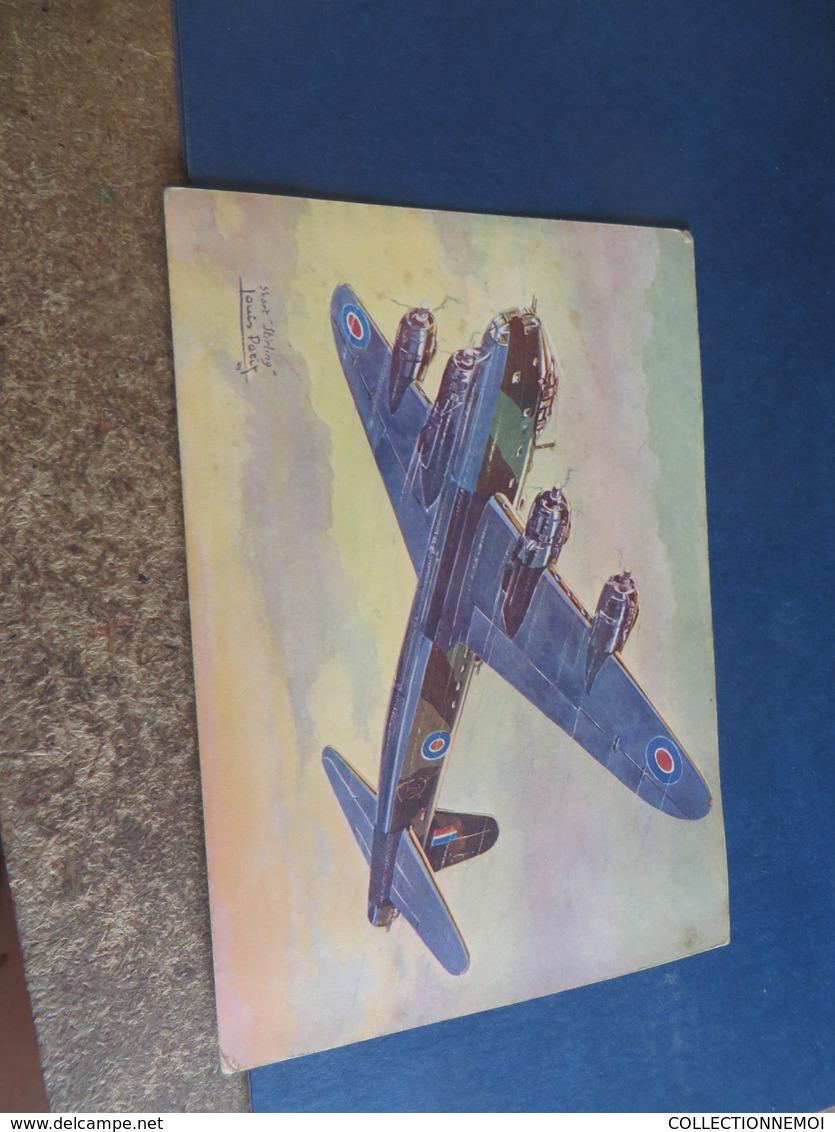 AVION , Illustrateur LOUIS PETIT ,16 Cartes D'avion Divers ,tous Scannées,aviations Et Militaria (( Lot 298 )) - Sonstige