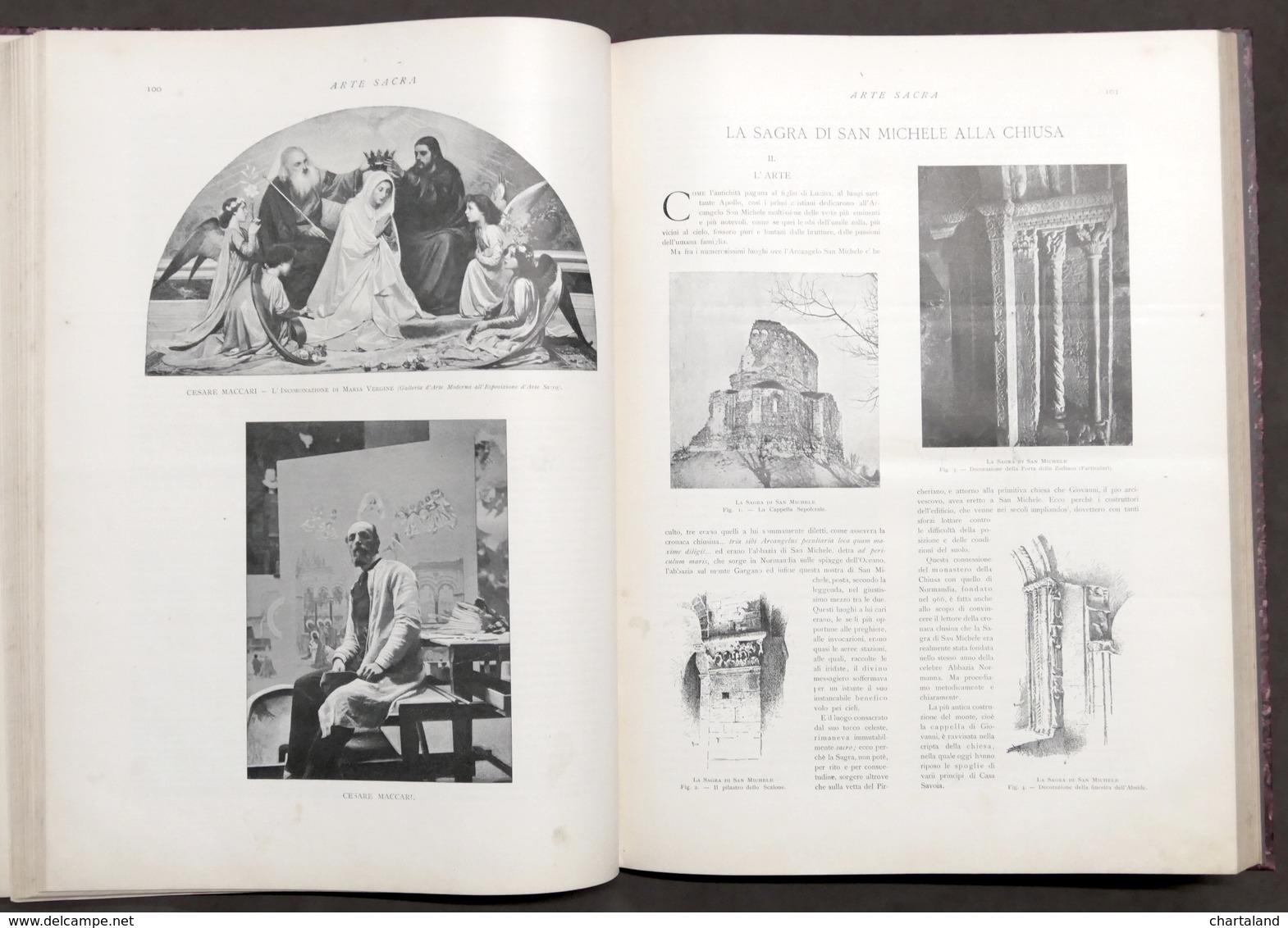 Arte Sacra 1898 - Esposizione Italiana In Torino - 1^ Ed. 1898 Roux Frassati - Libros, Revistas, Cómics