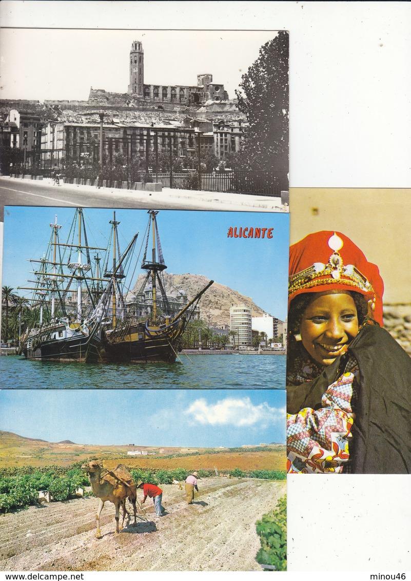 TRES BON LOT DE 725 CPA -CPSM- CPM ETRANGERES.NOMBREUX THEMES.CERTAINES RARES .B.ETAT GENERAL.VOIR SCANS ET DESC. - Postcards