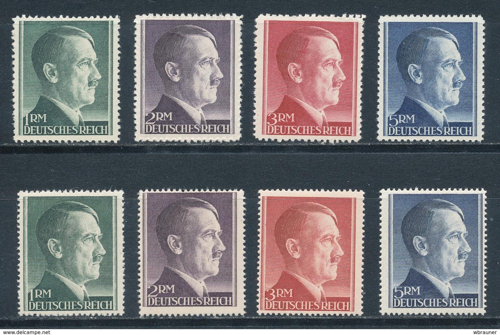 Deutsches Reich 799/02 A + B ** Mi. 70,- - Germania