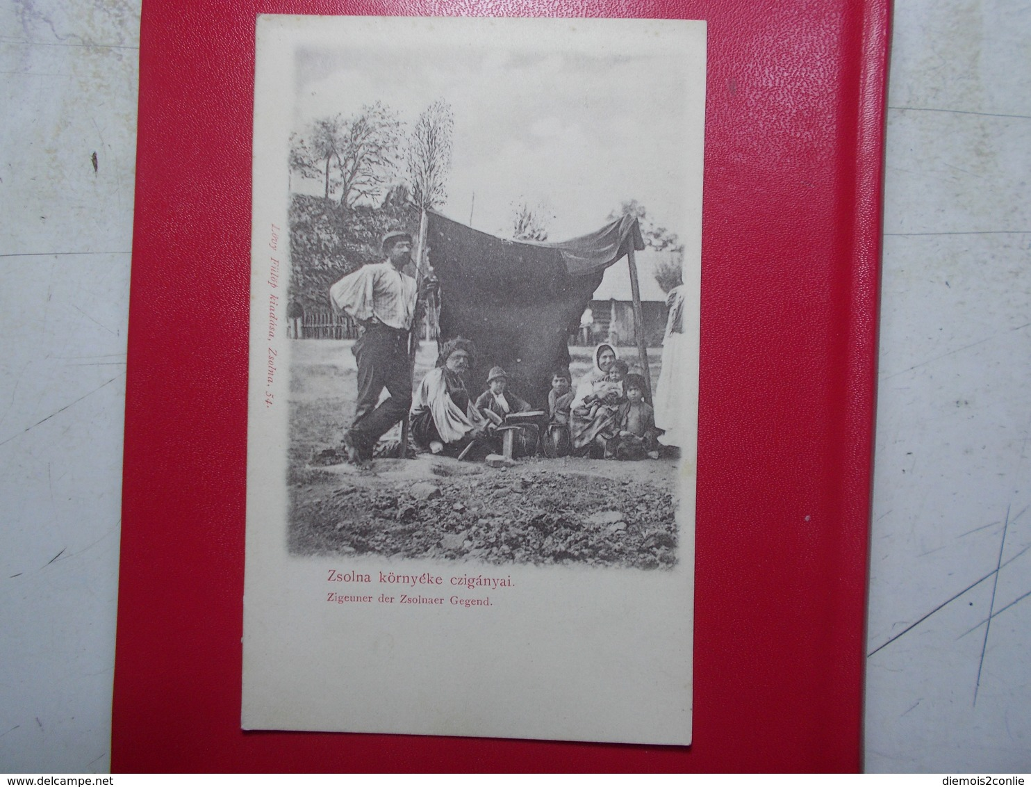 Carte Postale  - SLOVAQUIE - Zigeuner Der Zsolnaer Gegend - TZIGANES (3260) - Slovacchia