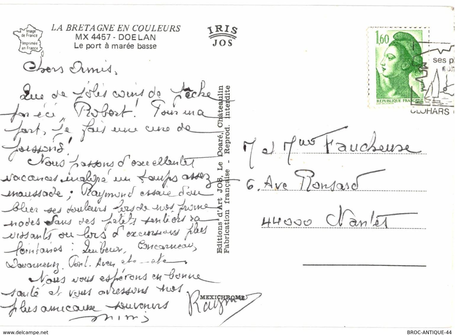 CPM* N°3375 - LOT DE 5 CARTES DE DOELAN ET SES ENVIRONS - Frankreich