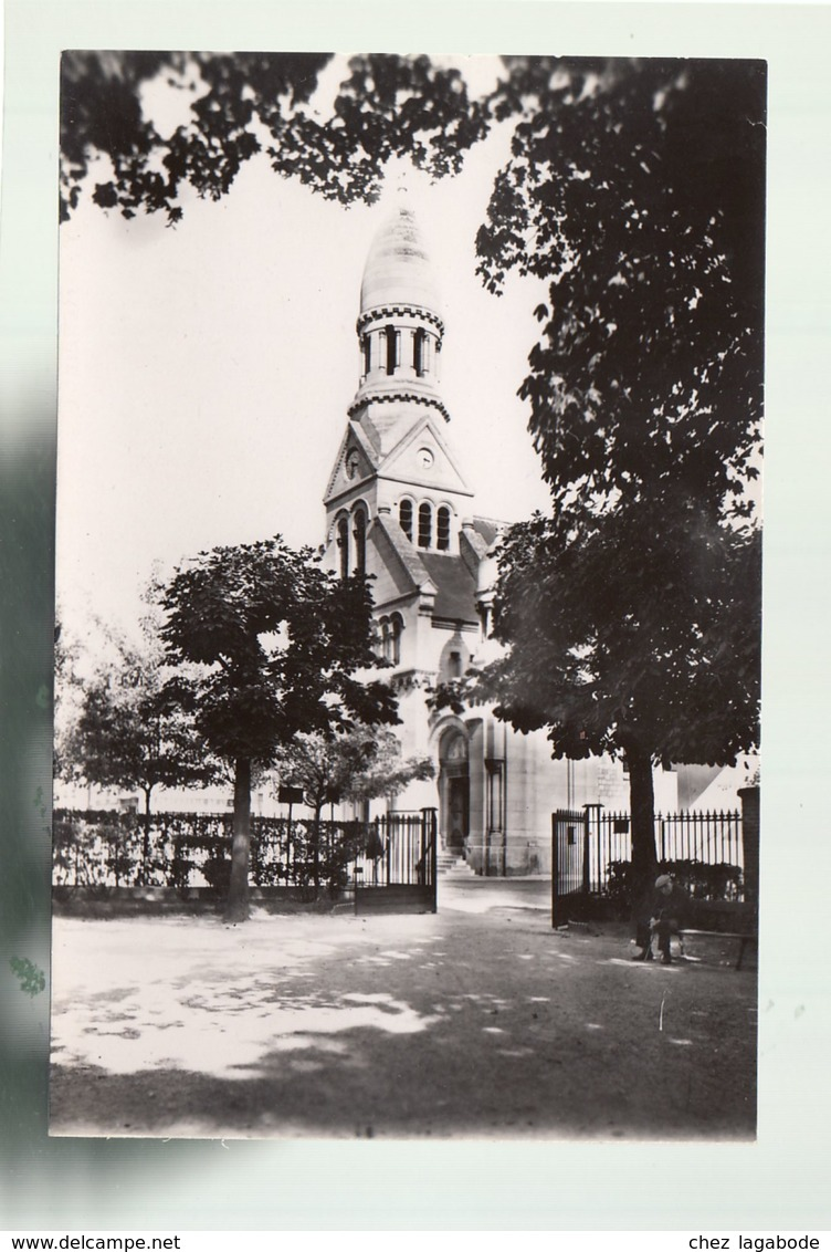 CP (95) Enghien - L'Eglise - Enghien Les Bains