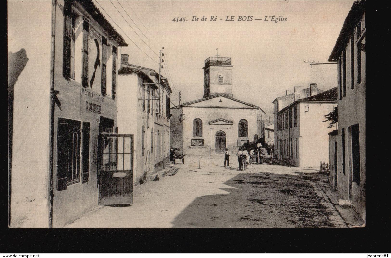 17/023.....LE BOIS ...EGLISE - Ile De Ré