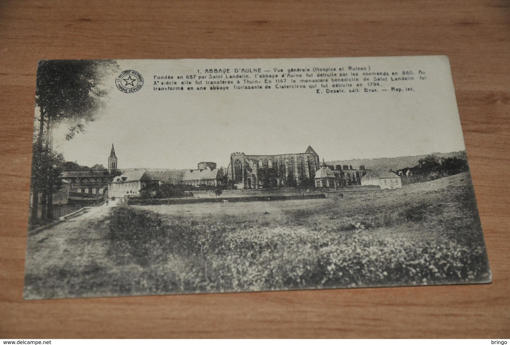 11724-  Abbaye D'Aulne - Vue Generale........... - Thuin