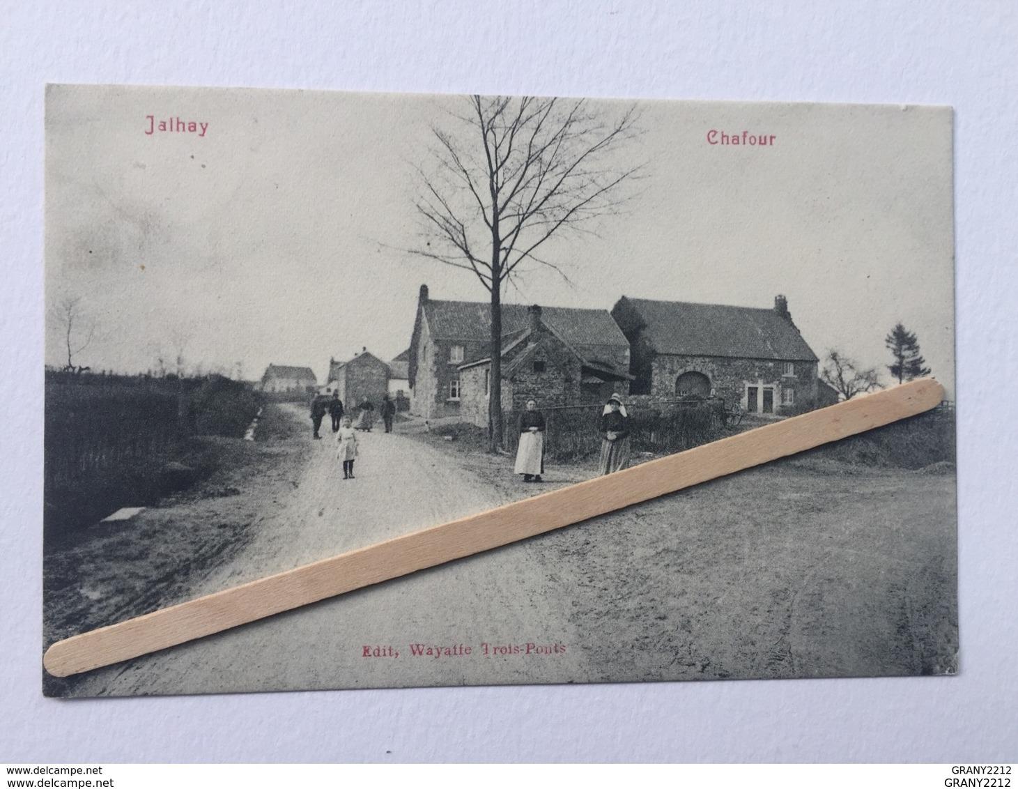 """JALHAY """"CHAFOUR """" Animée ( 1909)Édit, Wayaffe , Trois-Ponts ). - Jalhay"""